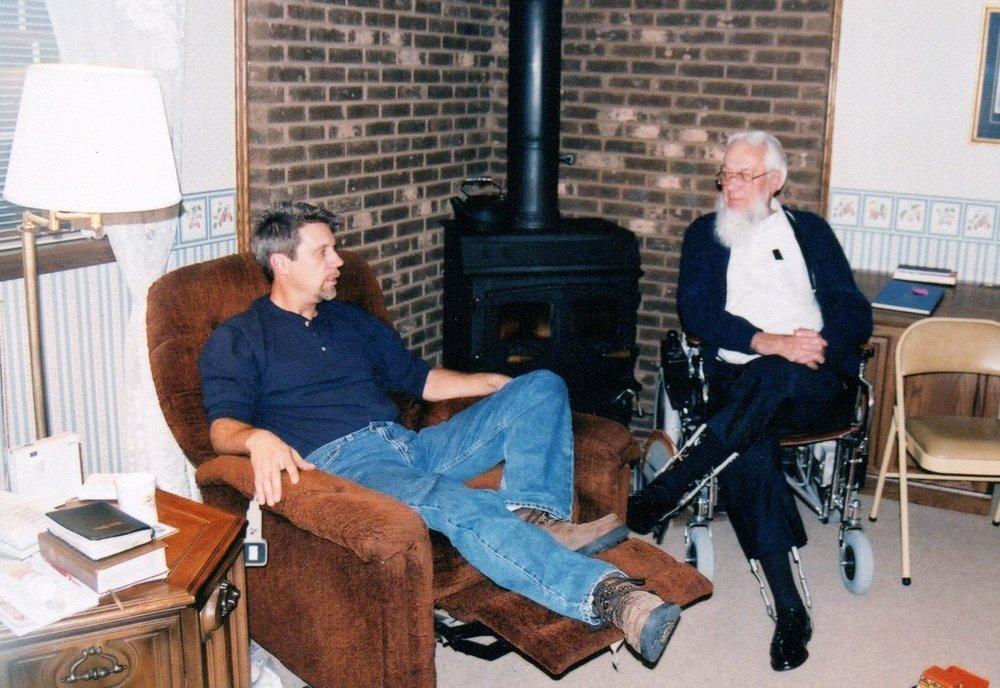 Gerald Wagoner Jr. and Sr. 2002