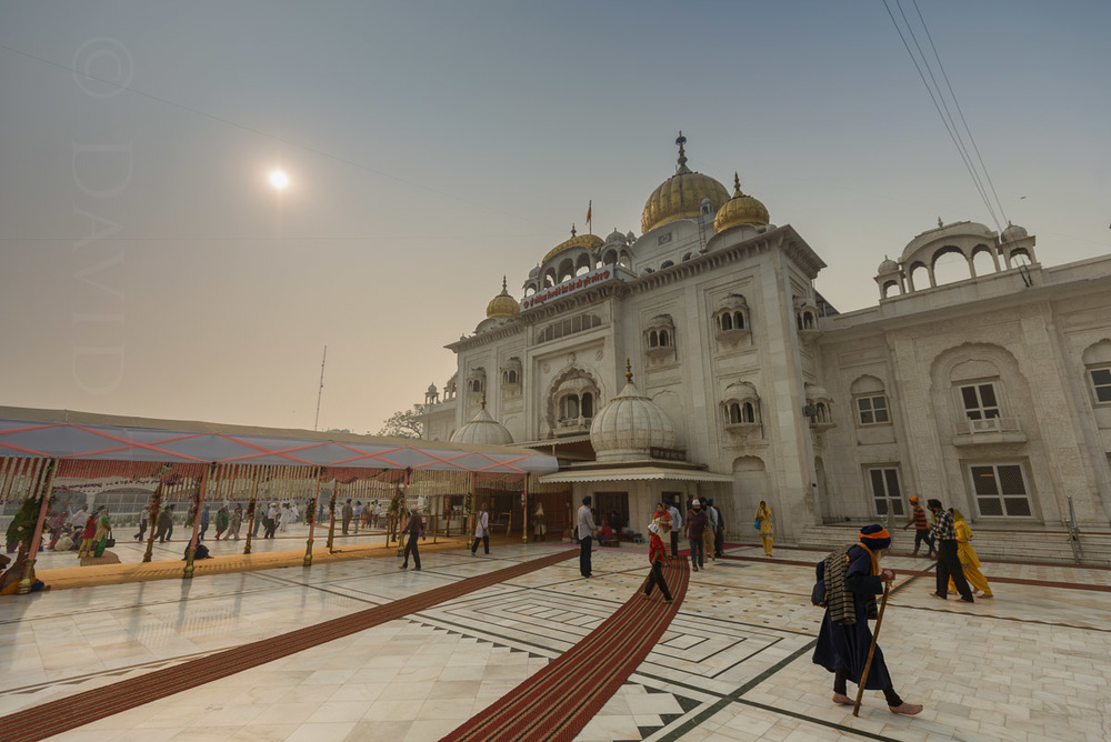 Bangla Sahib Gurudwara, Delhi, India
