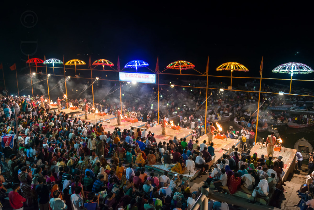 The Aarti Ceremony