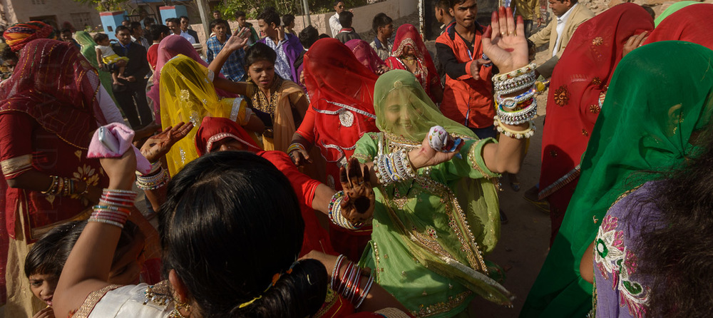 Wedding celebration, Jodhpur, India