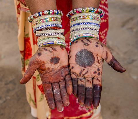 Indian details.