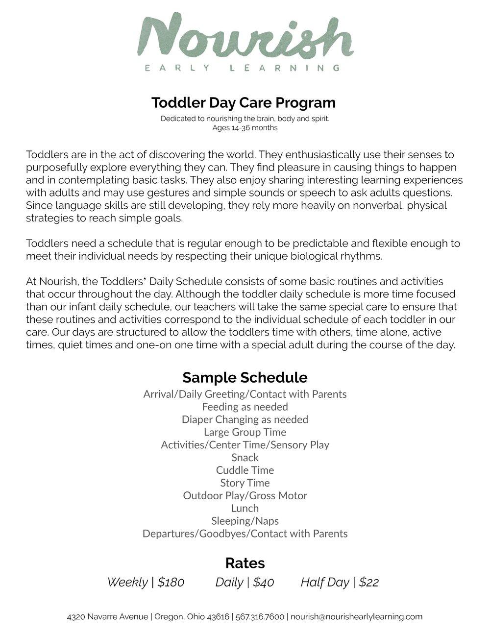Program Overview Nourish
