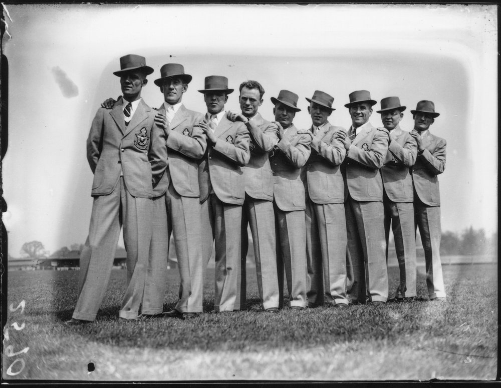 Royal Air Force boxing team, 1930s - photographer unknown (William Mokrynski Collection)
