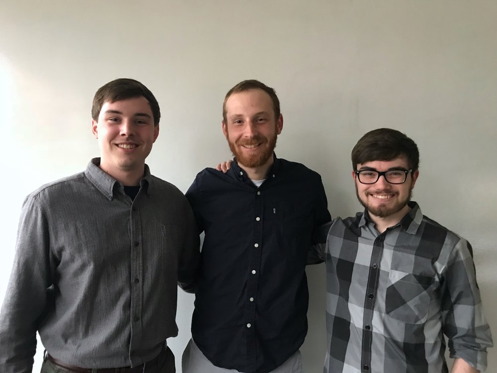 ServeCentral - ServeCentral is a mobile and web application that makes it easy for volunteers to find service events, and for service event planners to find volunteers.(Left to Right) Tyler Collins - Founder & CEOGarrett Reichert - DeveloperBen Underwood - Lead Developer