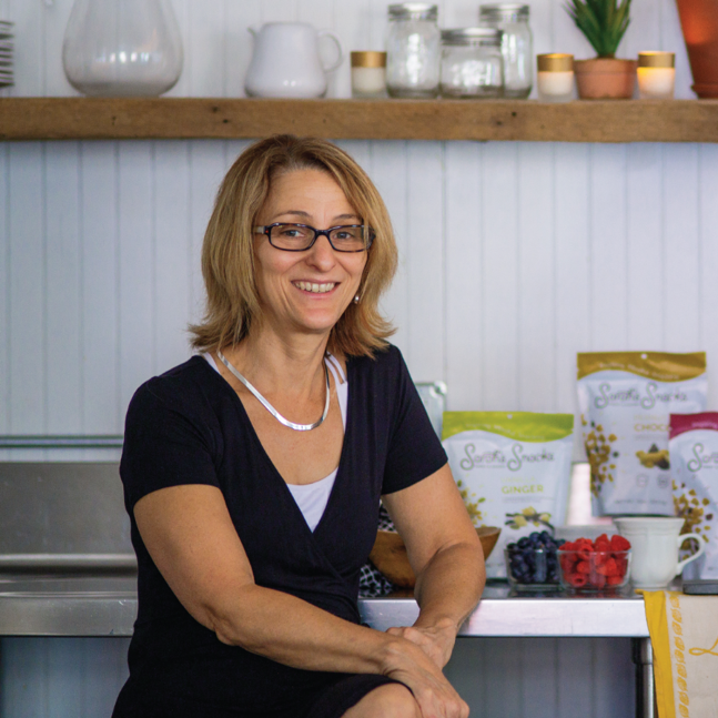 Gayle Lanphier - Gayle Lanphier '96 is a Registered Dietitian Nutritionist and a foodie at heart who believes in keeping all things simple. Nuts About Granola is a local granola company launched in York, PA, with her daughter in 2009. She is the Owner/ VP and proud of it! She has a small retail location in downtown York, PA Market District that offers many local artisan foods as well as great granola. In 2017 they re-branded with a new name, Sarah's Sweet & Savory Snacks (Link), new packaging, and great new flavors.Her professional practice in Dietetics includes over 20 years of clinical nutrition within Long Term Care as well as 10 years business management experience with Nuts About Granola in the Specialty Food Industry.