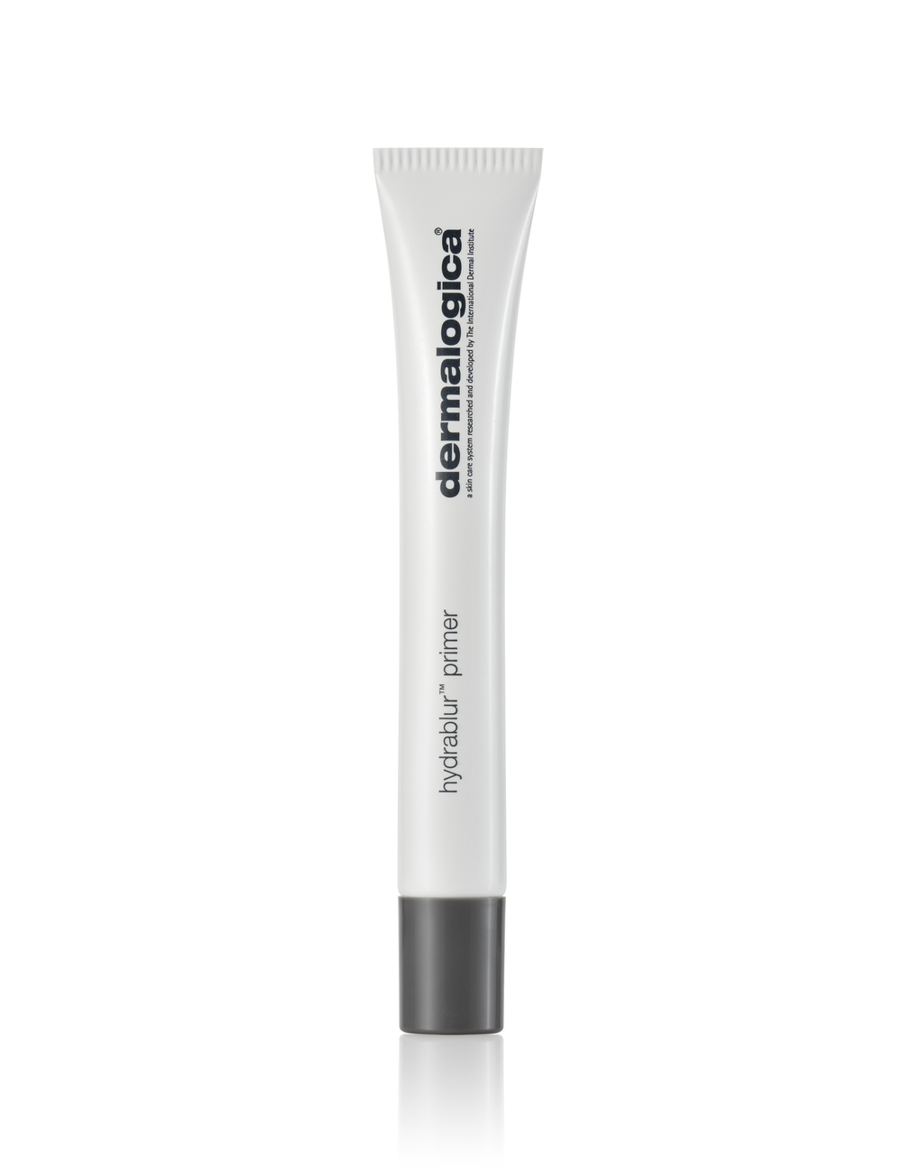A primer that's creamy, not rubbery - so less inclined to 'peel' under makeup - that mattifies where you need it, but leaves a fresh veil for skin that looks healthy and skin-true. Apply with a foundation brush or beauty sponge with a light touch.