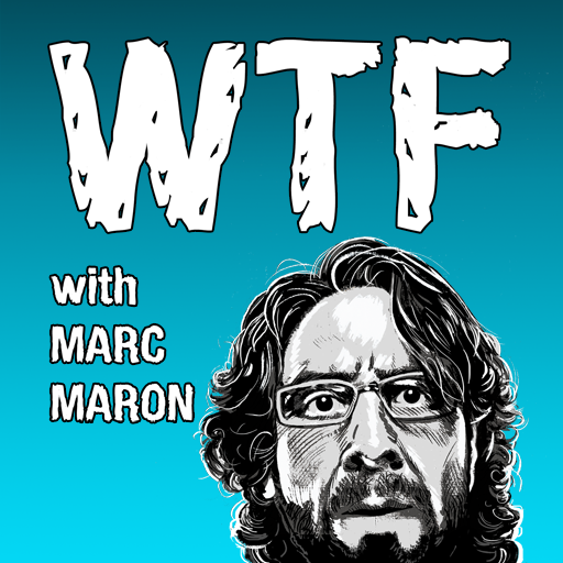 WTF with Marc Maron Podcast is like listening in on a conversation you'd be desperate to be a part of. His recent interview with Kristen Wiig was a genius interview.