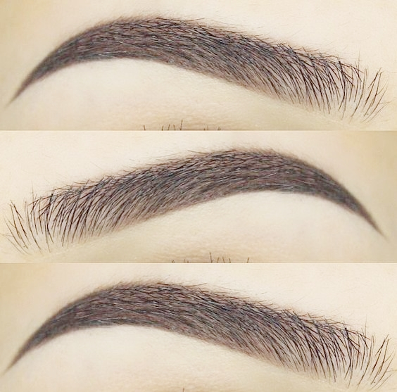 Brow School: How to fill brows with powder.
