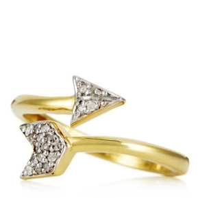 Lisa Snowdon Arrow Ring, £59.65.