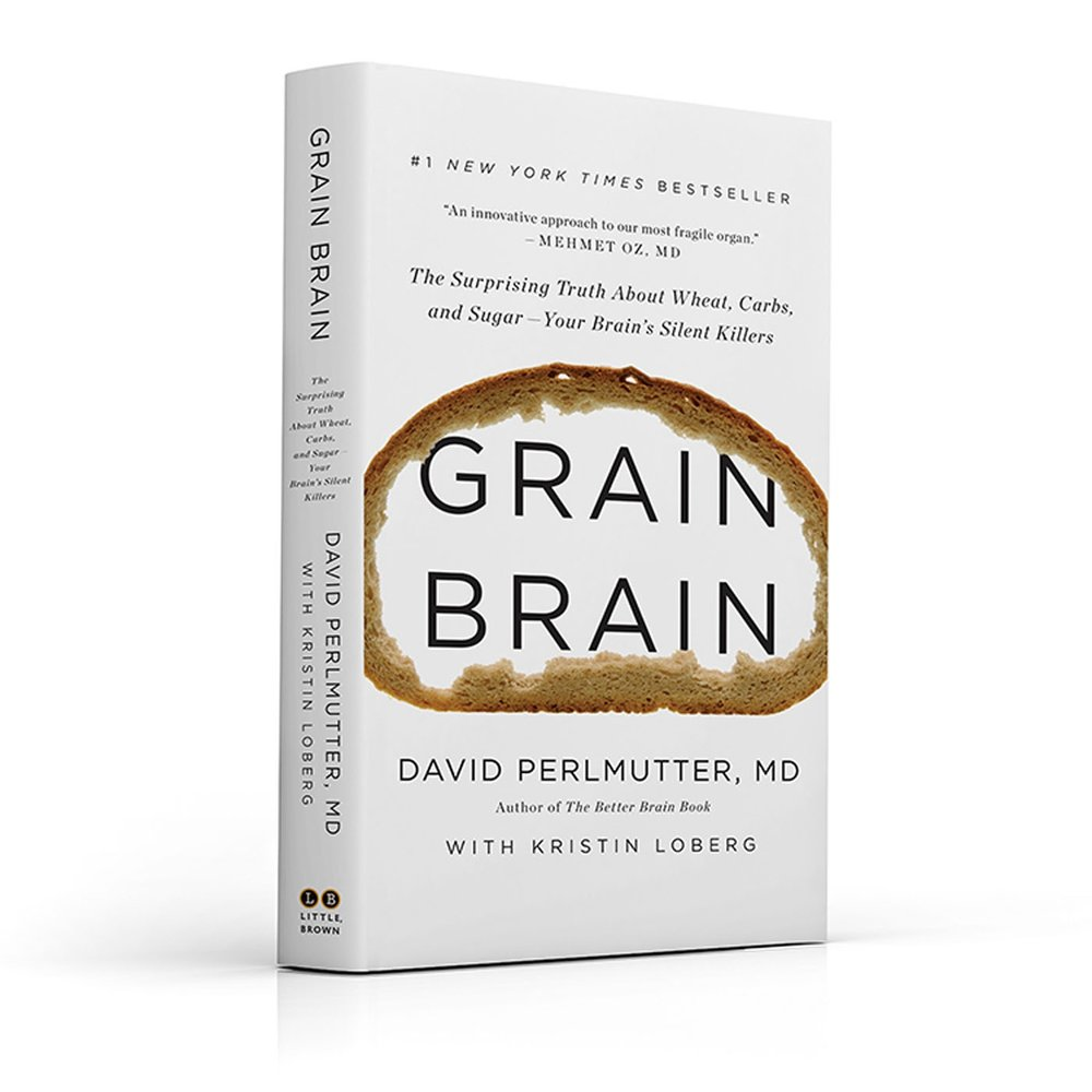 Grain Brain is available on  Amazon.co.uk .