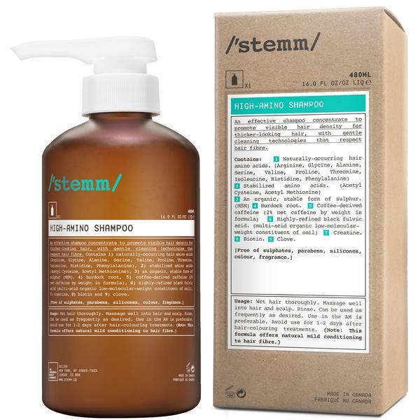 STEMM High-Amino Shampoo, £25.
