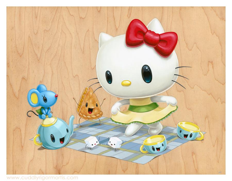 Hello Kitty Exhibition at JANM — Cuddly Rigor Mortis