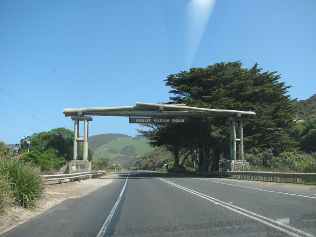 Then we were off for a few days on the Great Ocean Road!