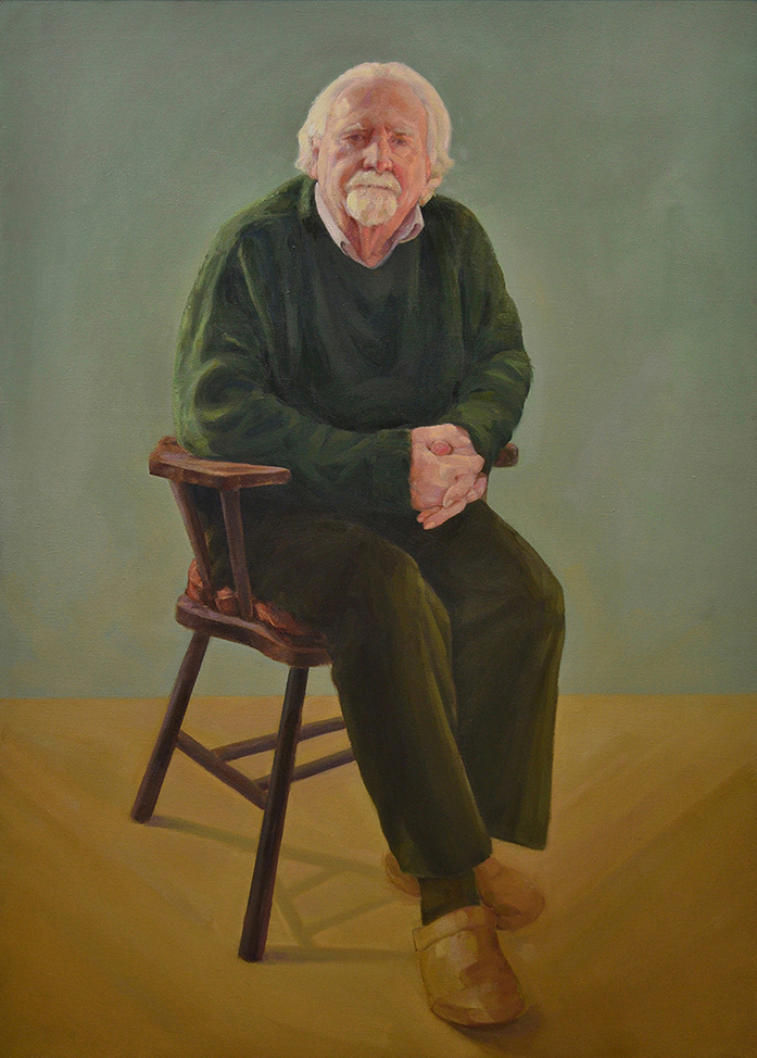 "Keith . 30"" x 42"" Oil on linen. Sold"
