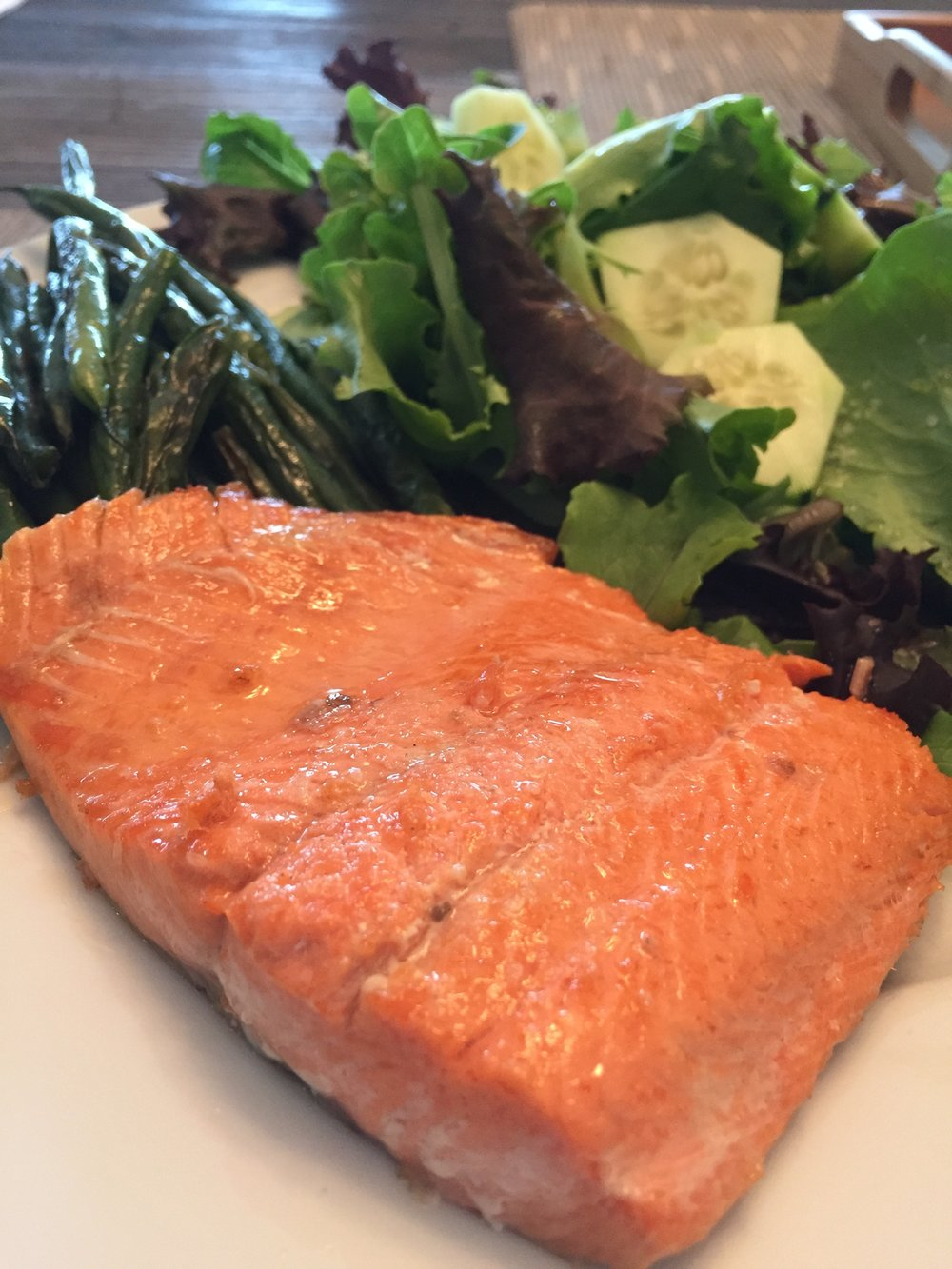 - Bottom line? This is a super quick and easy way of preparing salmon, which also happens to be a weekly staple in our house.