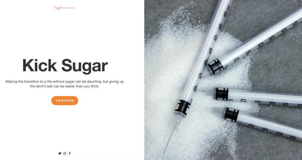 Learn to Kick Sugar to the Curb