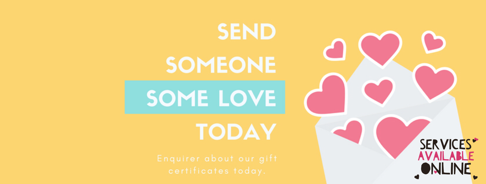 Looking to give someone the gift of health? Get the one you love a Holliday gift certificate!