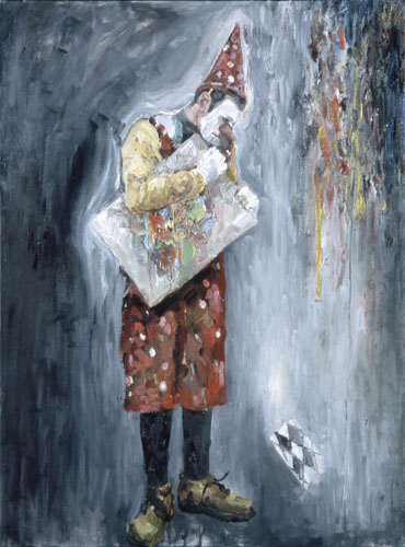 -8. The Artist Oil on canvas 48x36.jpg