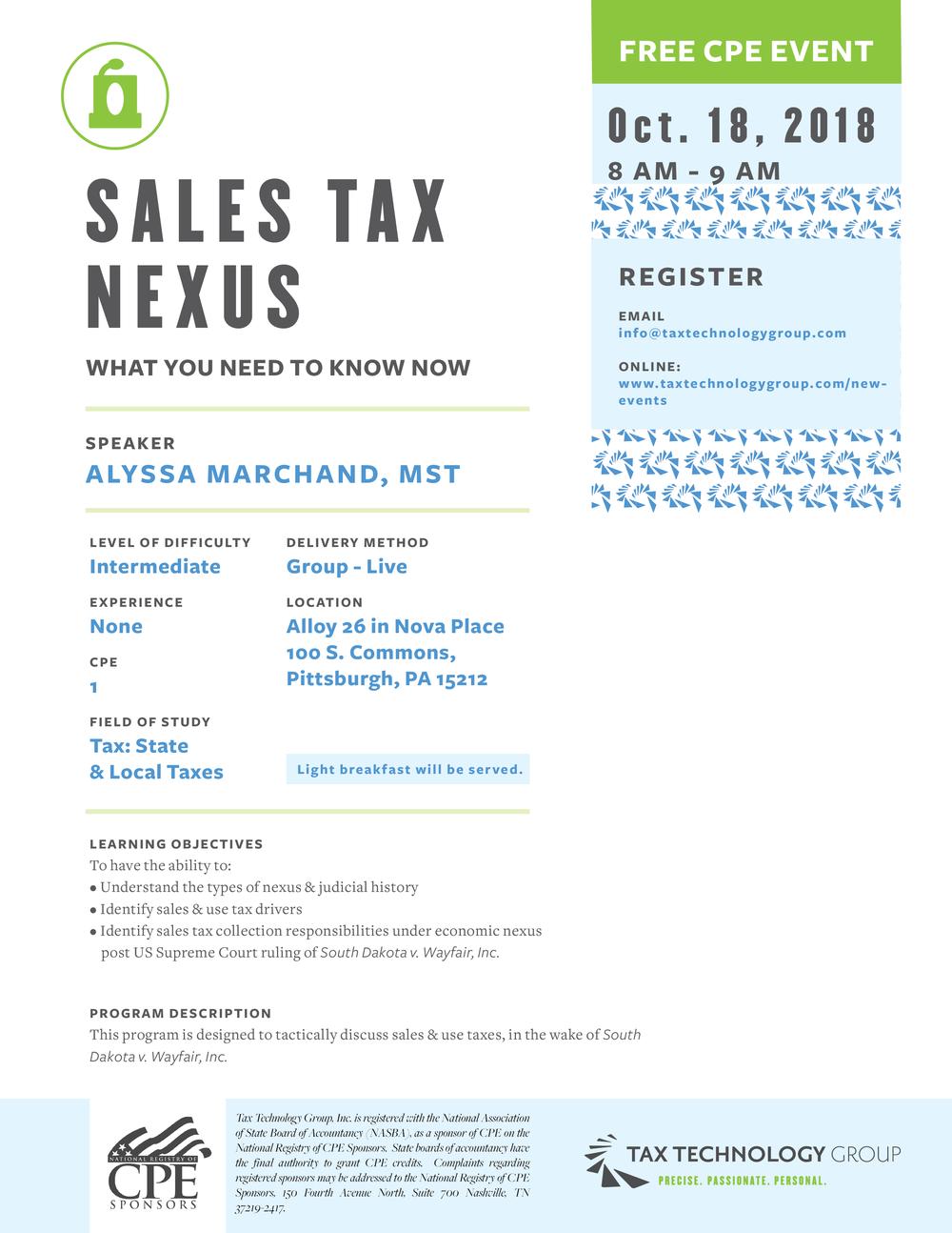 SUT Nexus_10182018_announcement.png