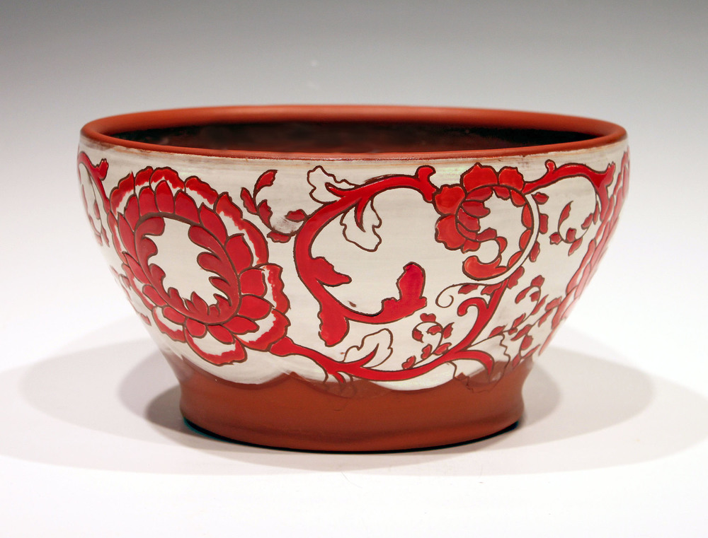 Red Serving Bowl .jpg