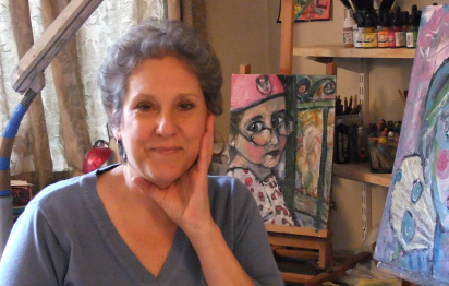 """My subscribership is up, sales are improving..."" - Joanie Springer, Painter, www.artforthesoulofit.com"