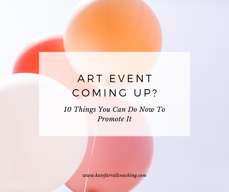 10 Things You Can Do Now To Sell More Art At Your Event