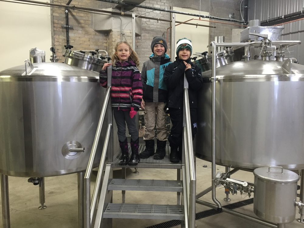 We have employed modern Oompa Loompas to help us make beer.