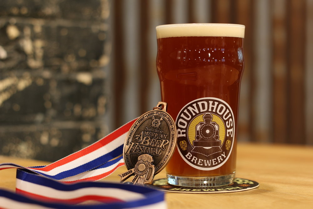 Way to go Chuck!  Our first brewery medal and a big one at that.  I guess it is time to take down our kid's participation medals and hang up a real medal at the brewery.