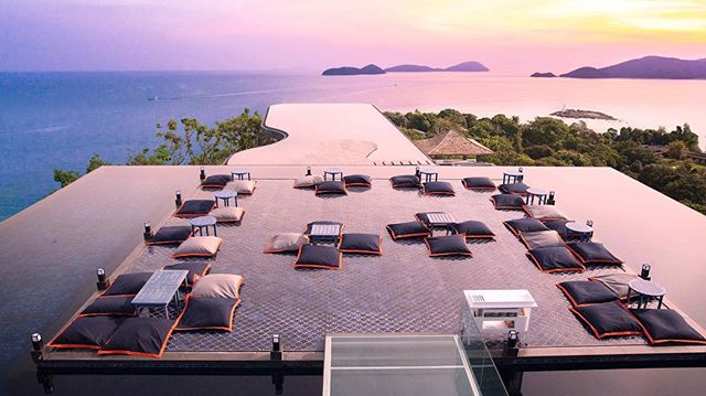 The rooftop of @babaphuket at @sripanwa resort is the perfect place to catch a stunning sunset in Thailand. Where are some of your favorite places to catch a beautiful sunset? #luxelifeadventures #liveadventurously