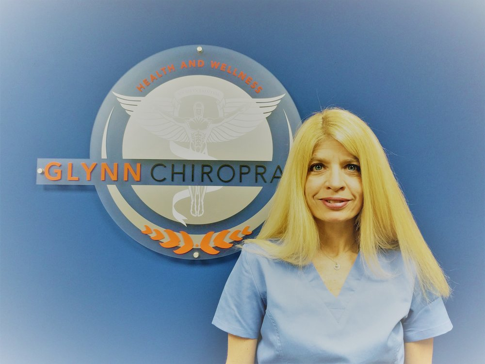 Lisa Sullivan -  I am a fitness enthusiast with a passion for health and wellness.  I am AFAA certified in personal training and group exercise.  In the past 15 years, I have worked in gyms, personal trained and worked in multi-disciplinary medical practices.At Glynn Chiropractic, Dr. Glynn and I will come together and personalize a specific treatment plan to help optimize your everyday lifestyle.  Treatment plans can be made for patients ranging from the sedentary person to the elite athlete.Additional Training:- Rehabilitation of the spine, knee and shoulder- Chronic inflammation in health and well being- Patellofemoral pain syndrome- Group resistance training- Schwinn indoor cycling- Chronic muscle fatigue
