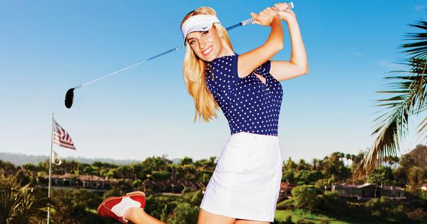 Featured photo of Paige Spirinac from her interview with Golf Digest.