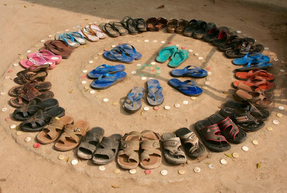 BRAC School Yard, Bangladesh