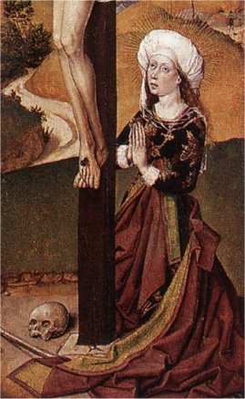 Magdalene at the Foot of the Cross