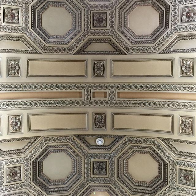 """Life moves pretty fast. If you don't stop and look around for a while, you could miss it."" #FerrisBuellersDayOff #historic #dtla #ceiling #downtownla #nofilter #unretouched #detail #architecture"
