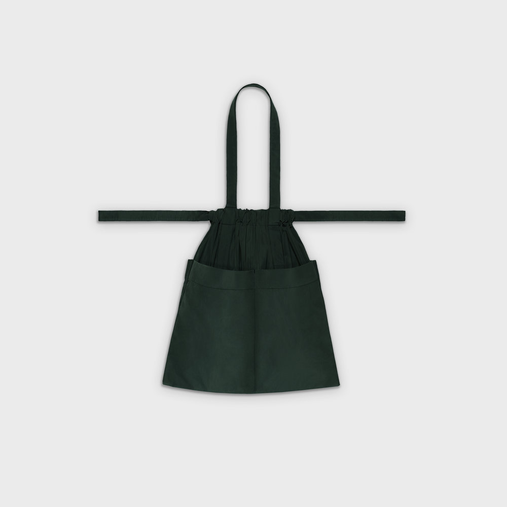 Drawstring Bag M in green