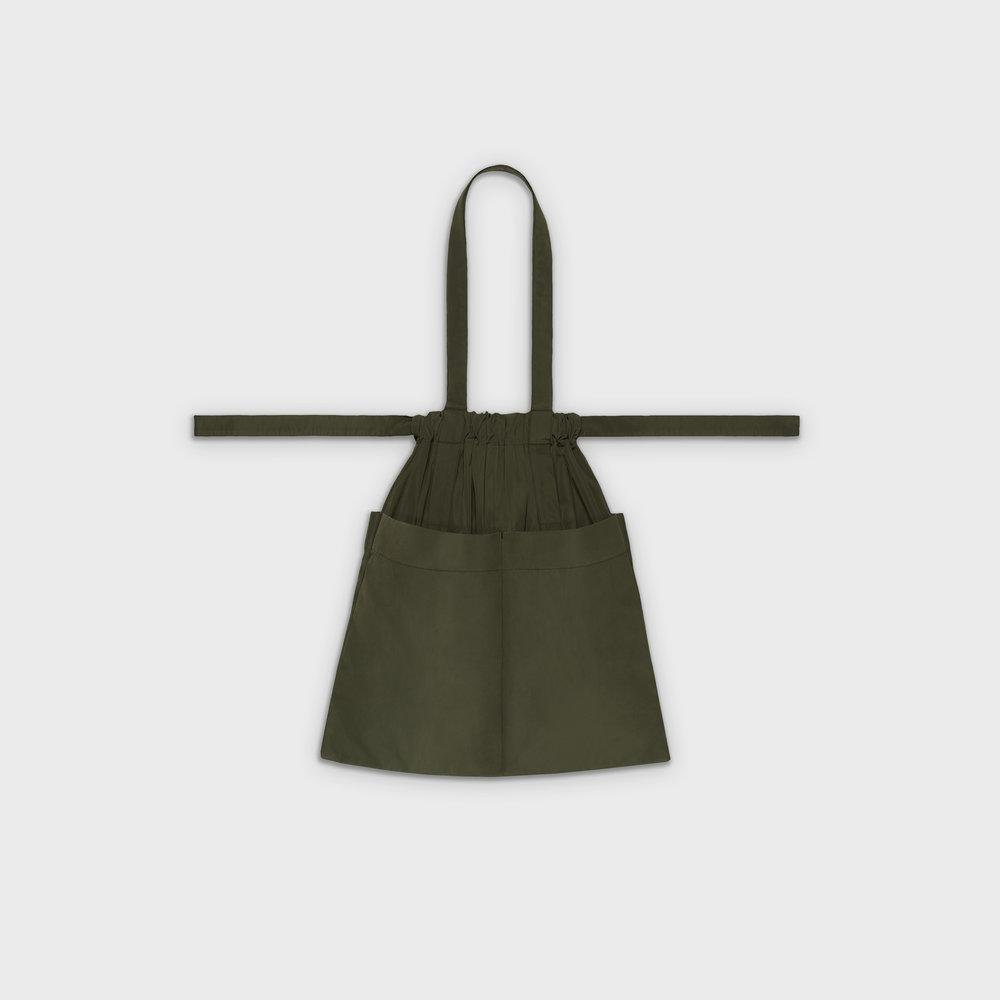 Drawstring bag M in khaki