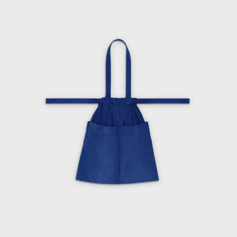 Drawstring bag M in blue