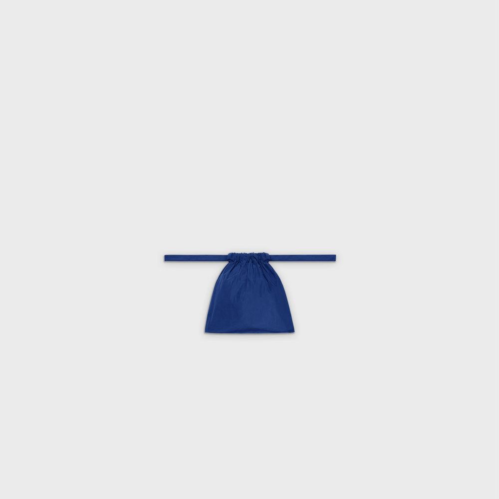 Multi-purpose drawstring bag XS in blue