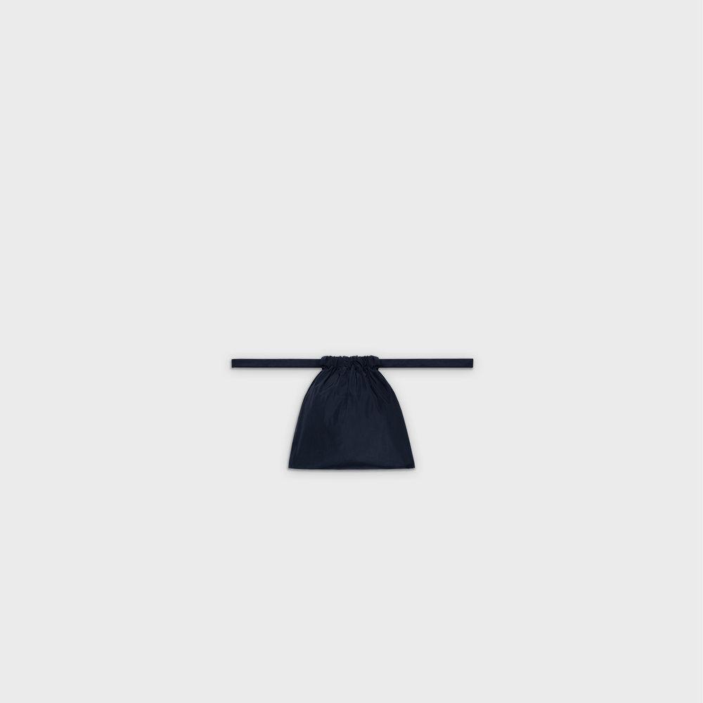 Multi-purpose drawstring bag XS in navy