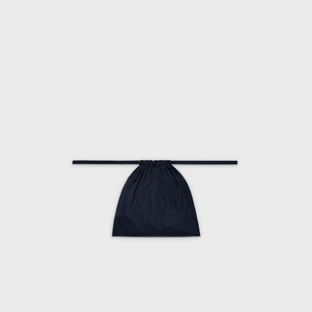 Multi-purpose drawstring bag S in navy