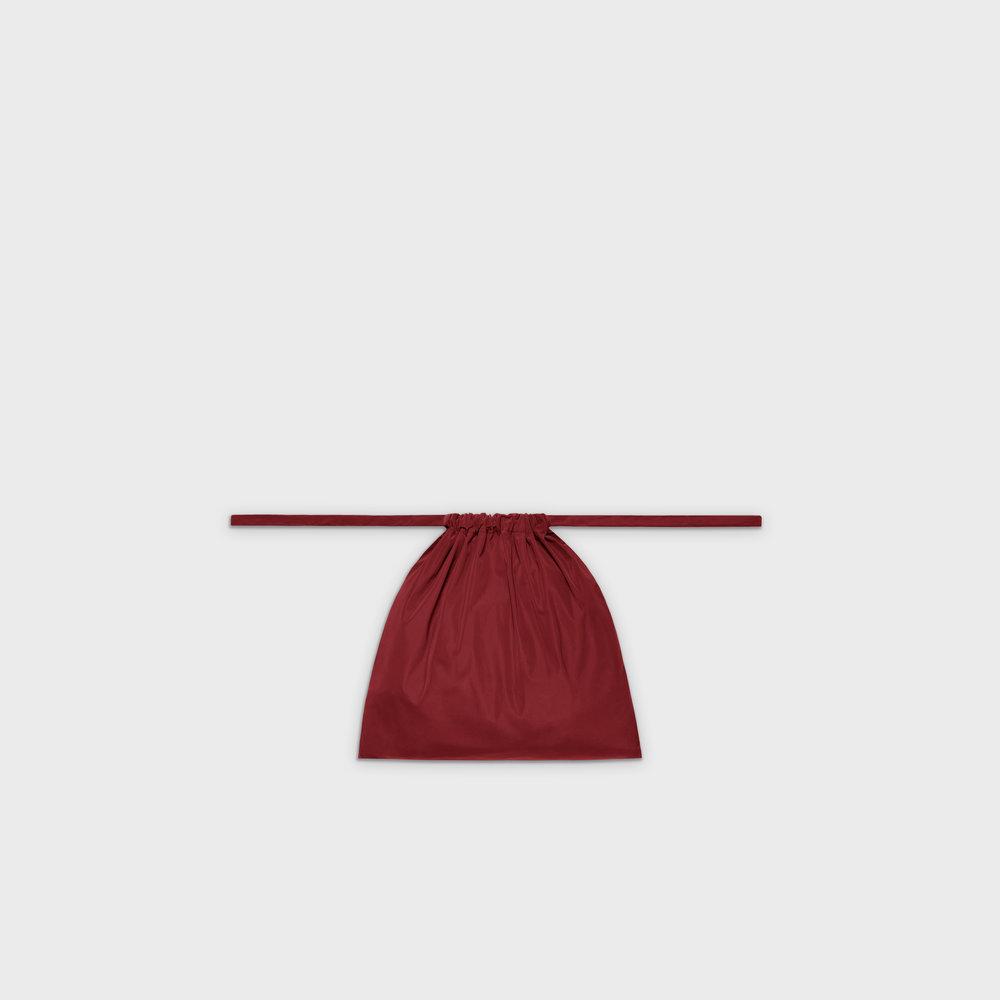 Multi-purpose drawstring bag S in red