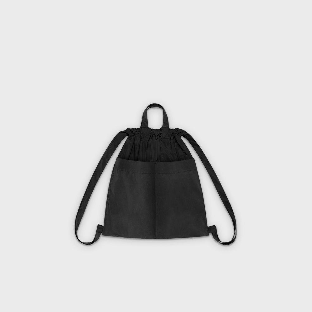 Day-Curious Drawstring Backpack M in black