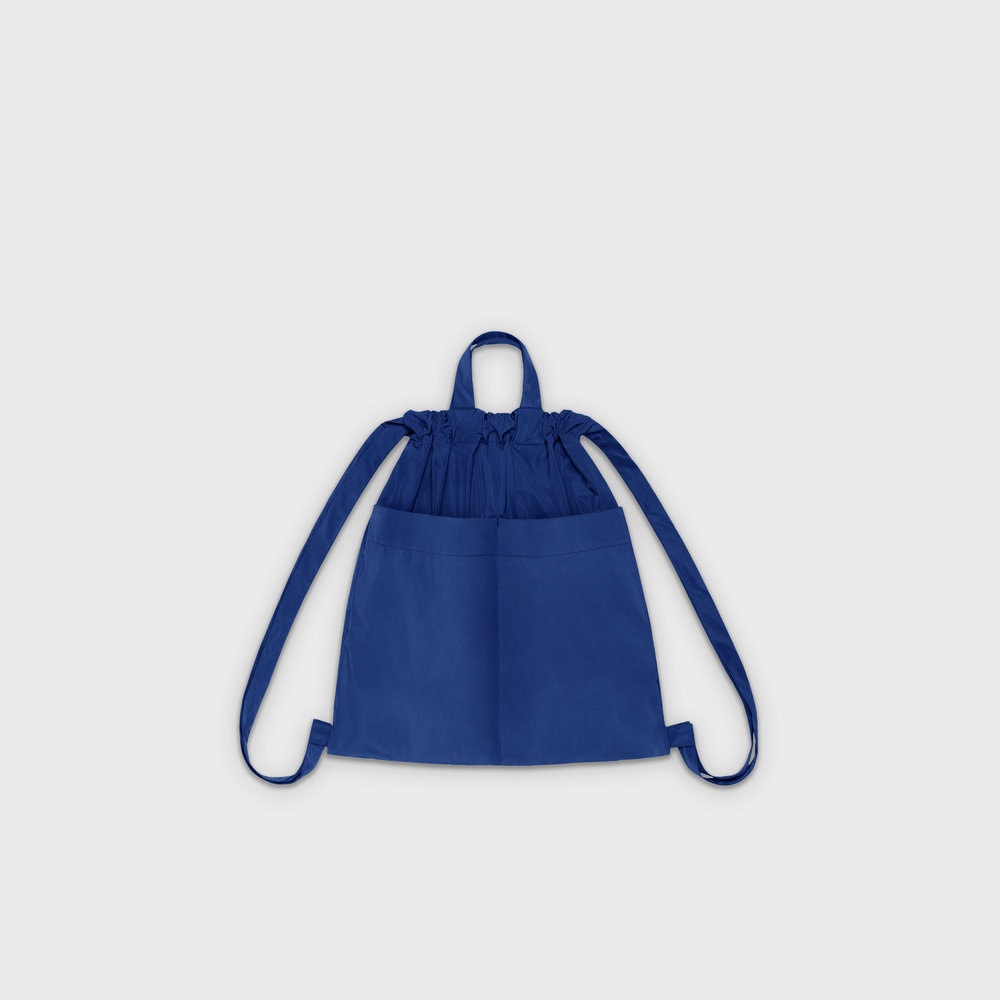 Day-Curious Drawstring Backpack M in blue