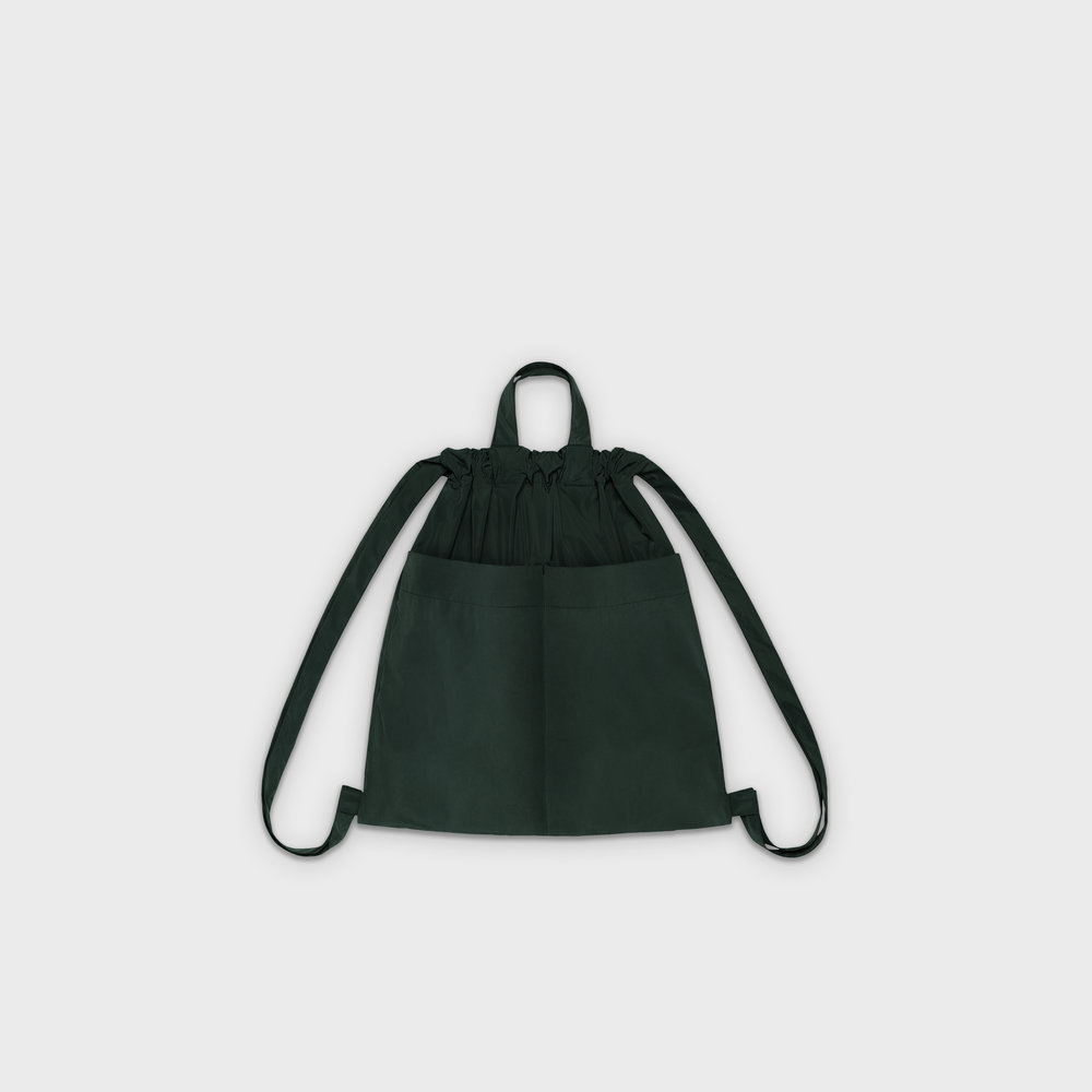 Day-Curious Drawstring Backpack M in green