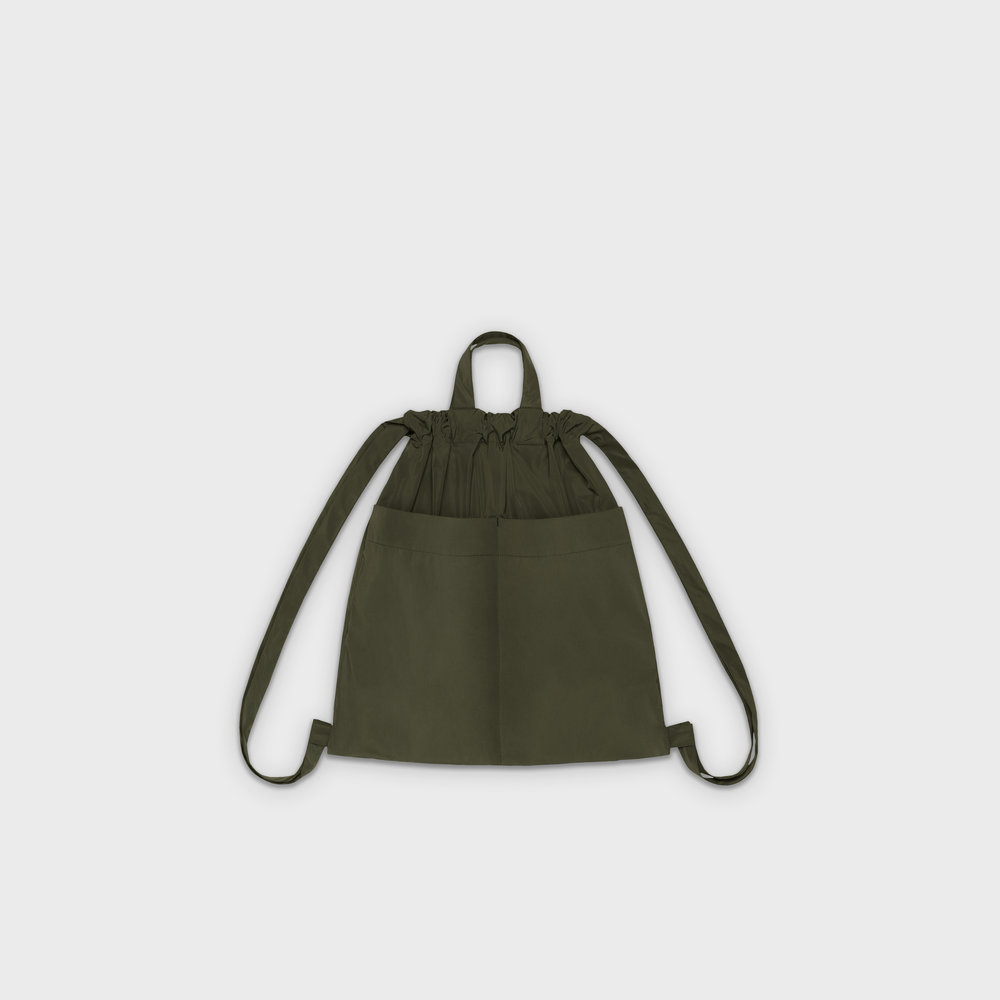Day-Curious Drawstring Backpack M in khaki
