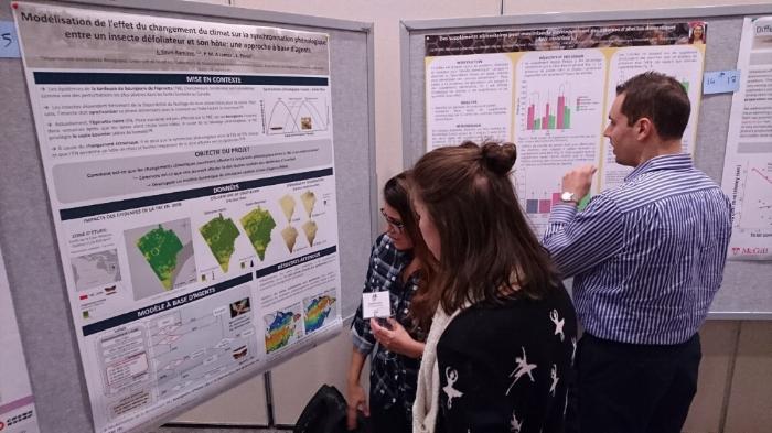Jennifer presenting her excellent poster