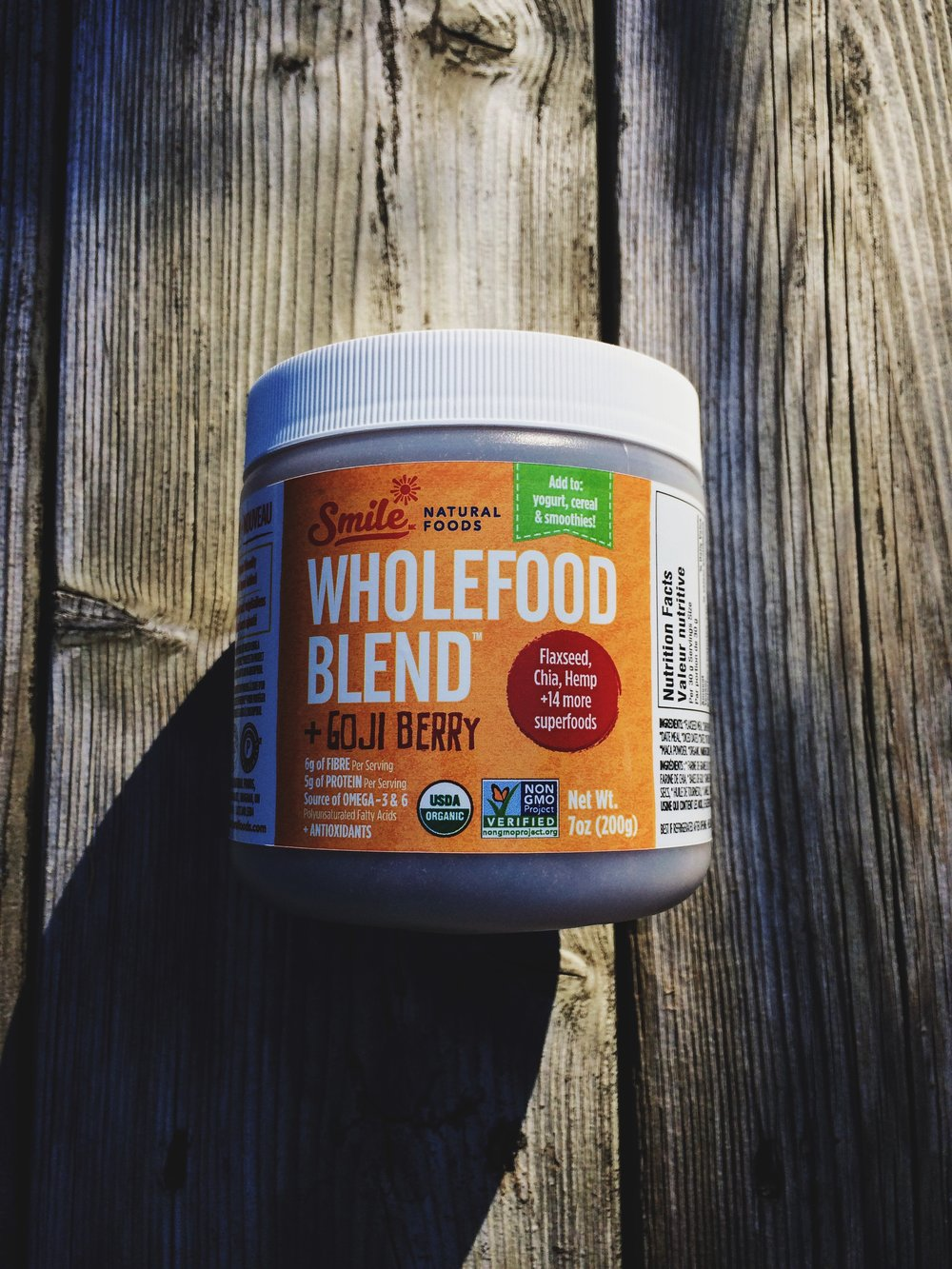 Smile Natural Foods Wholefood Blend + Goji Berry