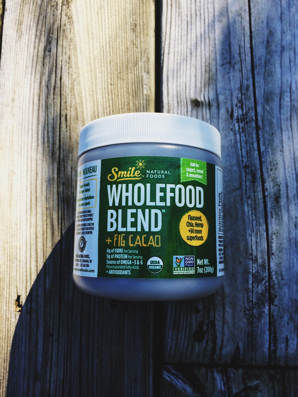 Smile Natural Foods Wholefood Blend + Fig Cacao