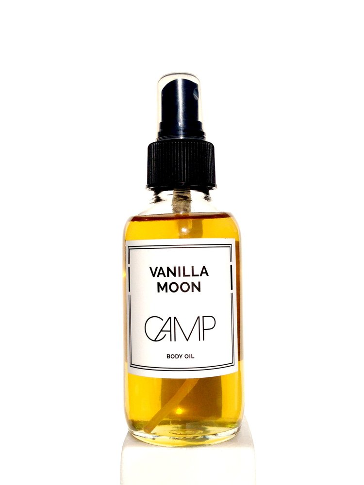 © Vanilla Moon Body Oil by CAMP Skincare