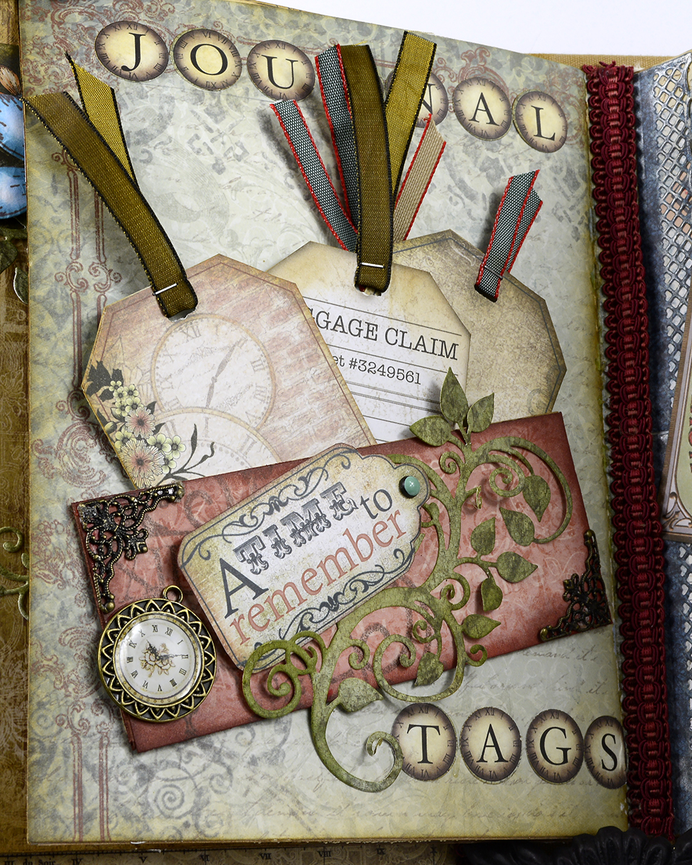 Journaling tags, included in Heartfelts paper collections, are included here for notes.